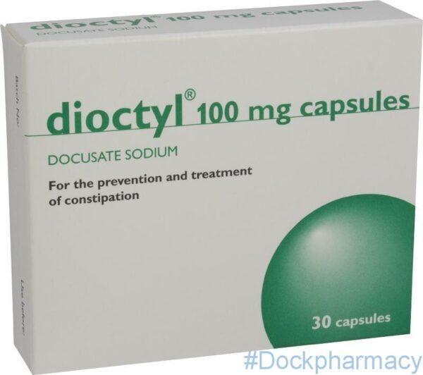 dioctyl 100mg capsules 30 capsules