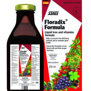 Floradix formula iron supplement 250ml