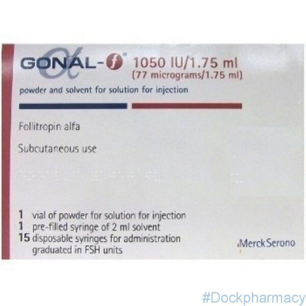 Gonal F 1050iu price uk