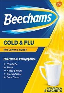Beechams Cold And Flu Honey/Lemon