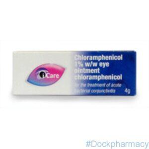 Chloramphenicol Eye Ointment 1% 4g
