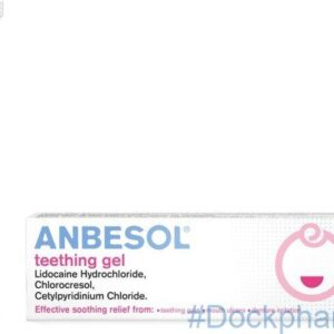 Anbesol teething pain relief gel