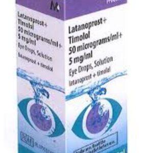 latanoprost timolol eye drops