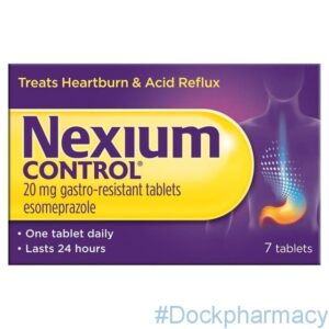 Nexium control for acid reflux and indigestion