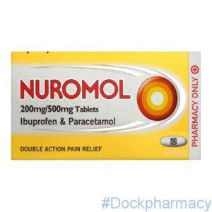 Nuromol ibuprofen and paracetamol tablets