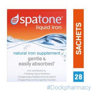 Spatone Liquid Iron Supplement Original, 28 Sachets