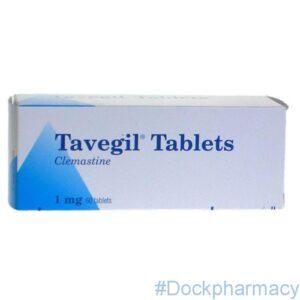 Tavegil clemastine 1mg tablets
