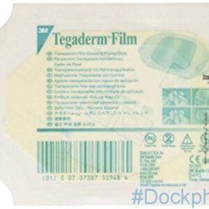 Tegaderm 1624W 6 x 7cm film dressing