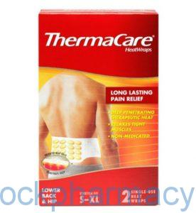 ThermaCare Heat Wrap Lower back & hips