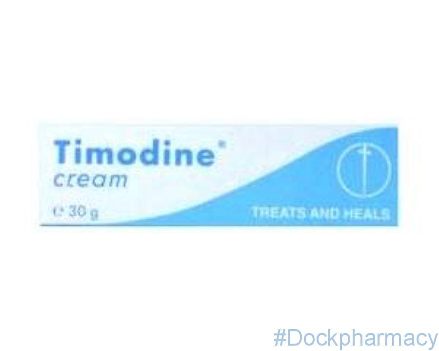 Timodine Cream 30g Dock Pharmacy