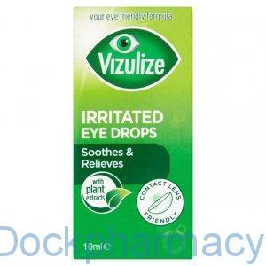vizulize irritated eye drops to soothe irritated eyes