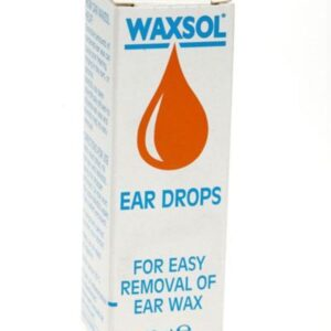 Waxsol Docusate sodium ear drops
