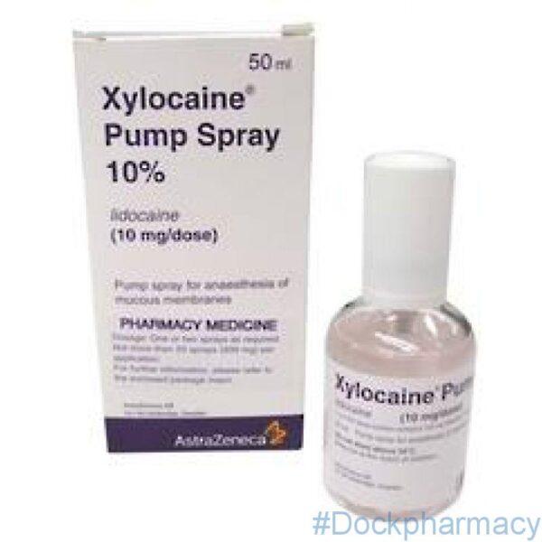 Xylocaine (lidocaine) pump spray 50ml