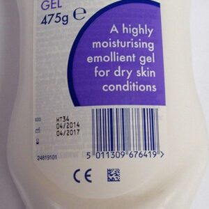 Zerodouble Gel,475g,highly moisturising emollient gel for dry skin conditions