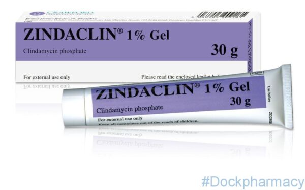 Zindaclin clindamycin acne gel