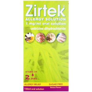 Zirtek allergy solution 150ml