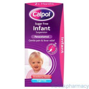 Calpol Infant Suspension Sugar Free, 100 Ml