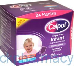 Calpol Sachets Sugar Free, 5ml x 20 Sachets