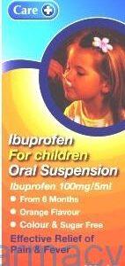 Ibuprofen For Children Oral Susp [Care], 100ml
