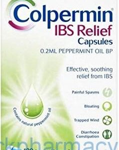 Colpermin Sr Enteric Coated, 100 Modified Release Capsules
