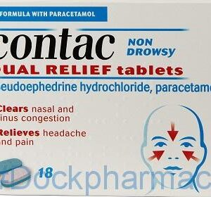 Contac, 18 Tablets