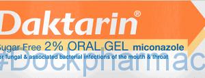 Daktarin Oral Gel, 15ml