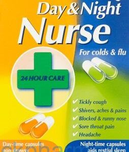 Day And Night Nurse, 24 Capsules