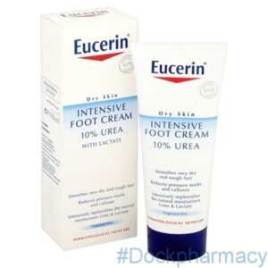 EUCERIN DRY SKIN FOOT CRM 10%, 100ML