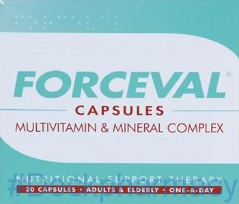 Forceval, 30 Capsules