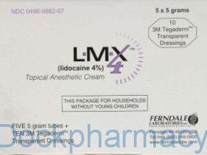 Lmx4 Lidocaine 12x5g, Plus 24 Waterproof Dressings