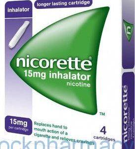 NICORETTE INHALATOR 15MG, 4S