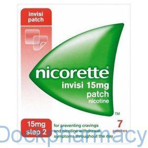 NICORETTE INVISI PATCH 15MG, 7