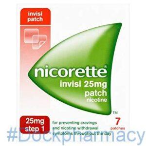 NICORETTE INVISI PATCH 25MG, 7