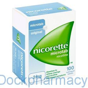 NICORETTE MICROTAB, 100