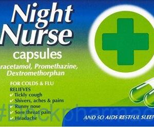 Night Nurse, 10 Capsules