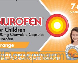 Nurofen Children Softchews Orange, 12 Capsules