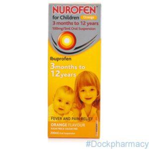 Nurofen For Children Orange, 100ml
