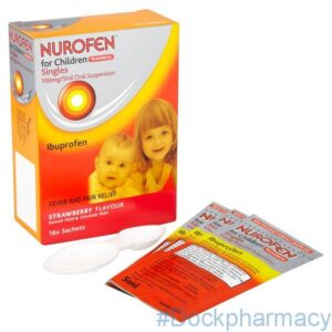 Nurofen For Children Strawberry, 5ml x 16 Sachets