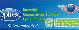 Optrex Bacterial Conjunctivitus 1%, 4g