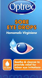 Optrex Sore Eyes, 10ml Drops