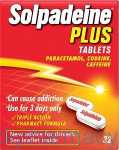 Solpadeine Plus Tablets 32 Tablets