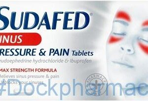 Sudafed Sinus Pressure And Pain, 12 Tablets