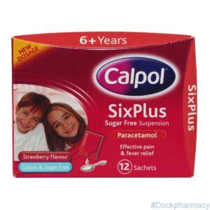Calpol Six Plus Sachets, 12 Sachets