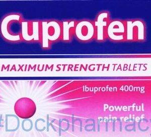 Cuprofen Maximum Strength 400mg, 48 Tablets