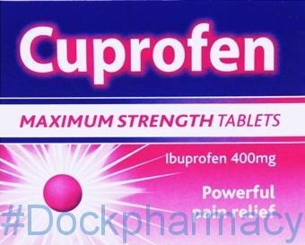 Cuprofen Maximum Strength 400mg, 12 Tablets
