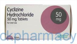 cyclizine hydrochloride 50mg tablets travel sickness