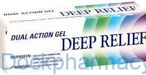 Deep Relief Gel Dual Action Ibuprofen, 50g