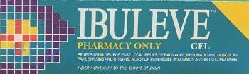 Ibuleve [Ibuprofen], 100g Gel