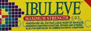 Ibuleve Maximum Strength [Ibuprofen], 30g Gel