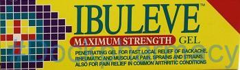 Ibuleve Maximum Strength [Ibuprofen], 50g Gel